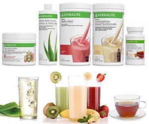 Afslanken met afval shakes Herbalife